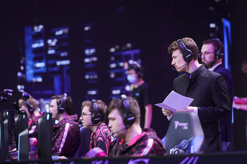 SHANGHAI, CHINA - September 26: Worlds Play-ins Day 2. (Photo by David Lee)